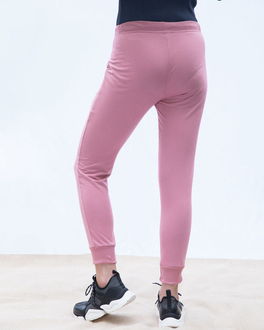 Shop Frosty Pink Casual Jogger Pants-Design