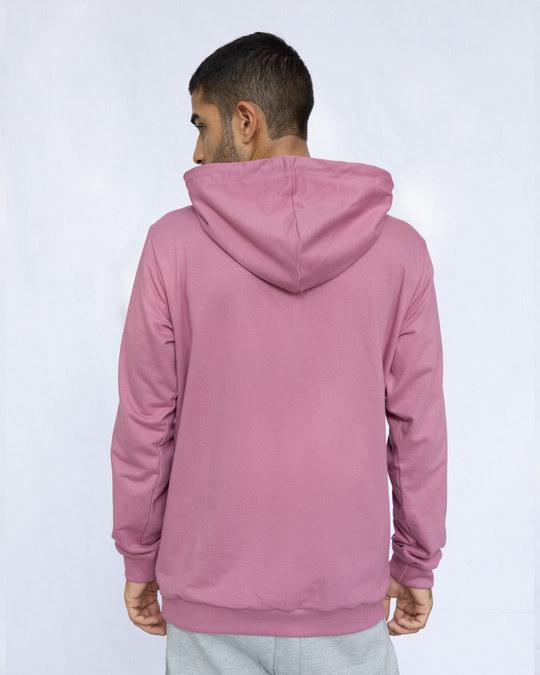 Shop Frosty Pink Fleece Hoodies-Design
