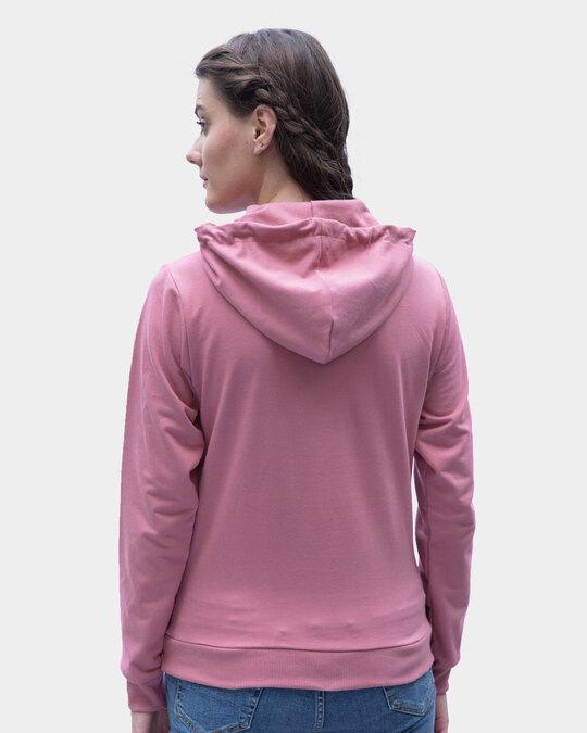 Shop Frosty Pink Fleece Hoodies