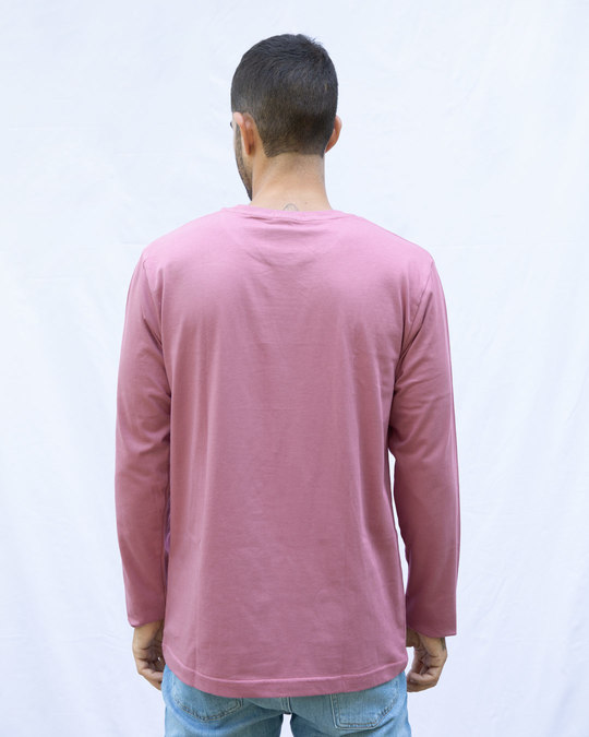Shop Frosty Pink Full Sleeve T-Shirt-Design