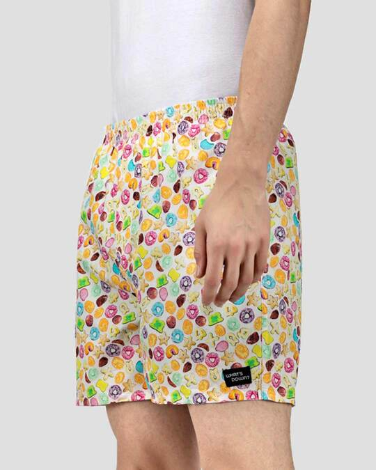 Shop What's Down | Fruit Loopy Boxer Shorts-Back