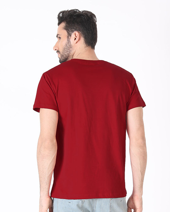 Shop Fuel Half Sleeve T-Shirt-Back