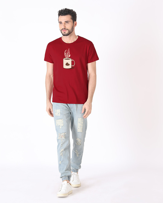 Shop Fuel Half Sleeve T-Shirt-Design