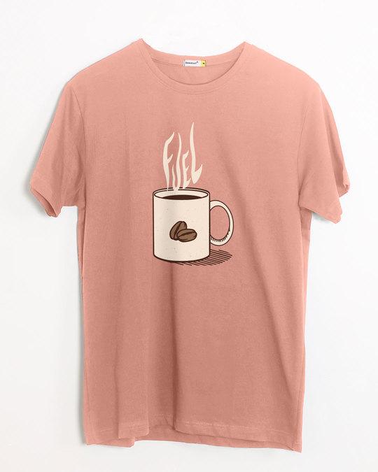 Shop Fuel Half Sleeve T-Shirt-Front