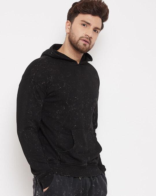 Shop Acid Drop Shoulder Hooded Sweatshirt