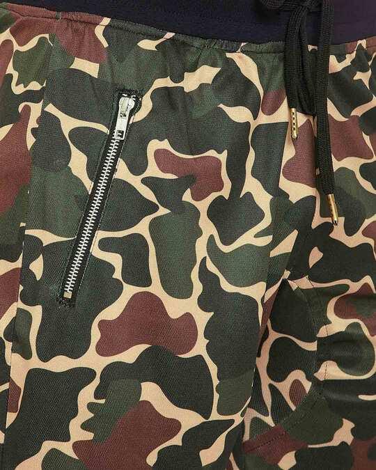 Shop Camo Mesh Basketball Tshirt And Shorts Combo Suit
