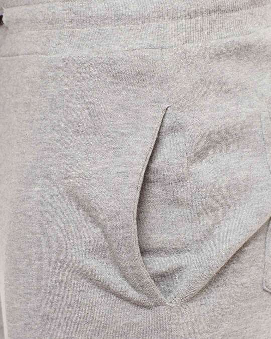 Shop Grey Ombre Distressed Joggers