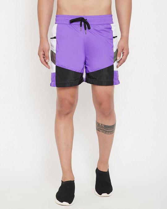 Shop Plum Active Cut & Sew Shorts-Front