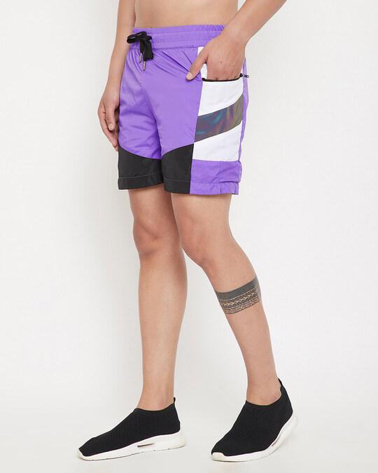 Shop Plum Active Cut & Sew Shorts-Back