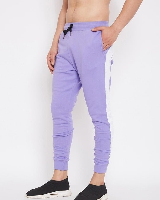 Shop Plum Overzised Taped Trackpants-Design