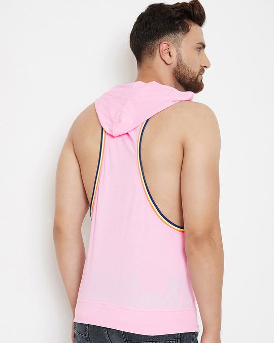 Shop Sweet Rose Hooded Stringer Vest-Full