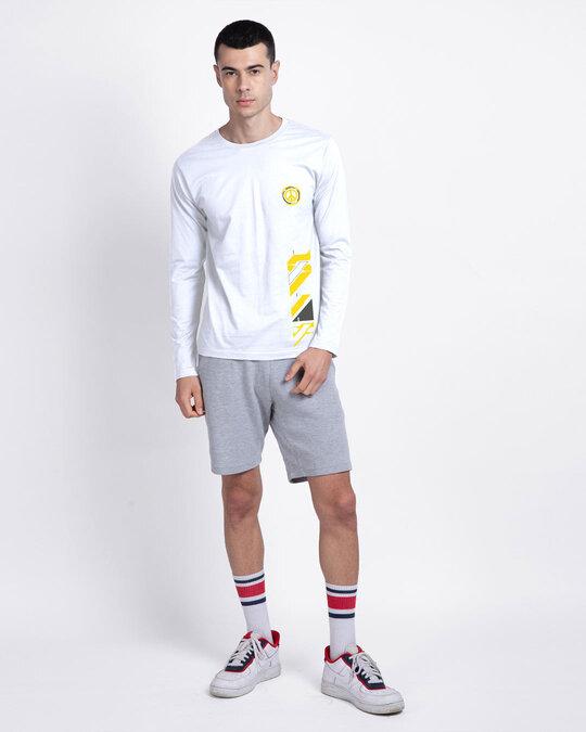 Shop Funk Peace Full Sleeve T-Shirt White-Design