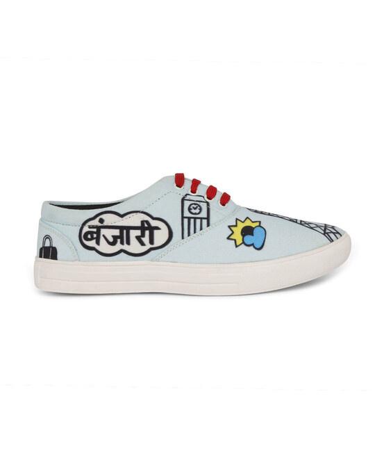 Shop Funkfeets Banjari Sneakers-Design