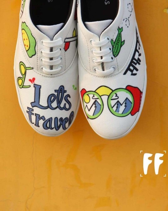 Shop Funkfeets Safarnama Sneakers