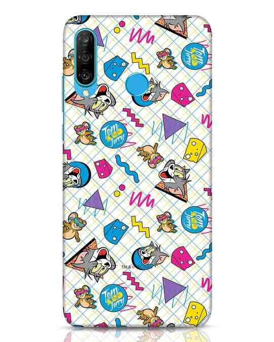 Shop Funny Friends Huawei P30 Lite Mobile Cover (TJL)-Front