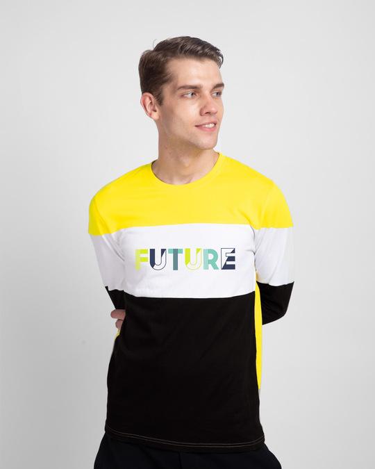 Shop Future Color Block T-Shirt-Front