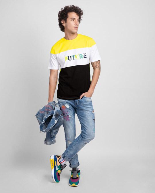 Shop Future Color Block T-Shirt-Full