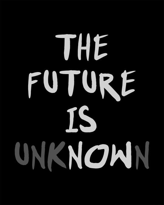 Shop Future Is Unknown Boyfriend T-Shirt