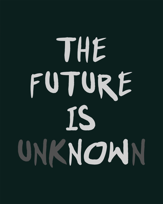 Shop Future Is Unknown Full Sleeve T-Shirt