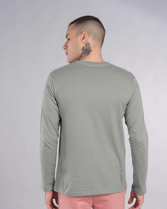Shop Gaadi Tera Bhai Full Sleeve T-Shirt-Back