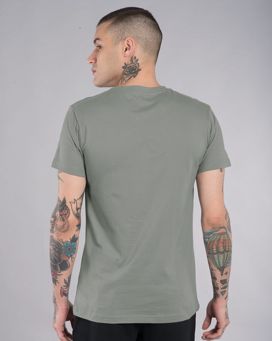 Shop Gaadi Tera Bhai Half Sleeve T-Shirt-Back