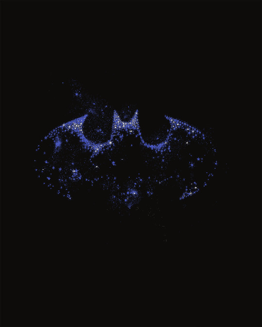 Shop Galaxy Batman Boyfriend T-Shirt (BML)