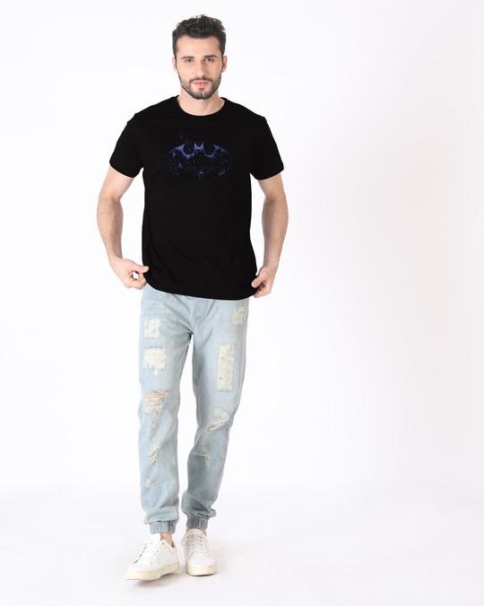 Shop Galaxy Batman Half Sleeve T-Shirt (BML)-Design