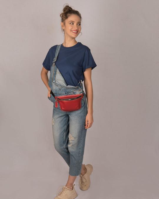 Shop Galaxy Blue Boyfriend T-Shirt