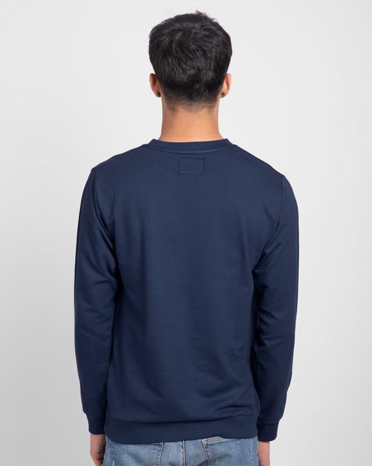 Shop Galaxy Blue Fleece Light Sweatshirt-Design