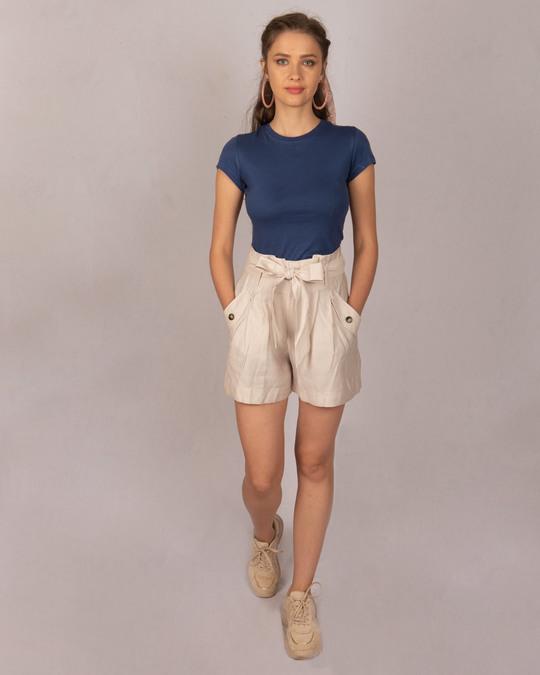 Shop Galaxy Blue Half Sleeve T-shirt-Full