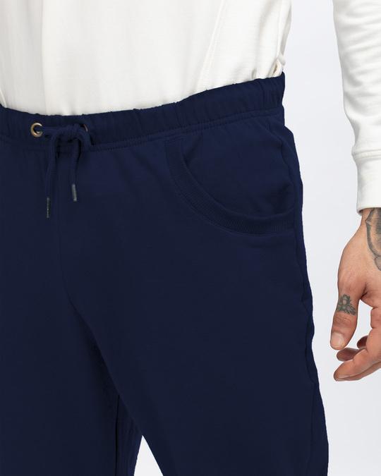 Shop Galaxy Blue Casual Jogger Pants