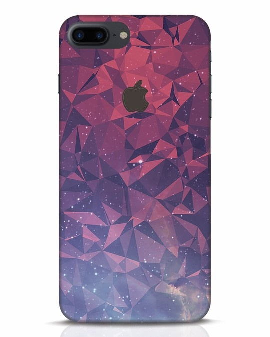 Shop Galaxy iPhone 7 Plus Logo Cut Mobile Cover-Front