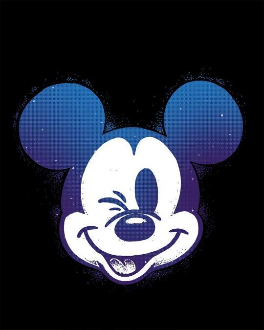 Shop Galaxy Mickey Boyfriend T-Shirt (DL)