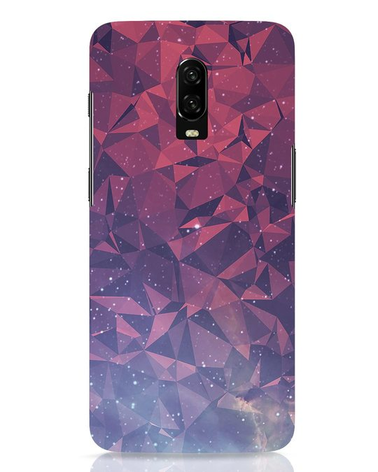 Shop Galaxy OnePlus 6T Mobile Cover-Front