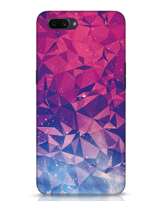 Shop Galaxy Oppo A3S Mobile Cover-Front