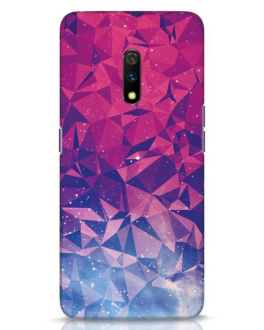 Shop Galaxy Realme X Mobile Cover-Front