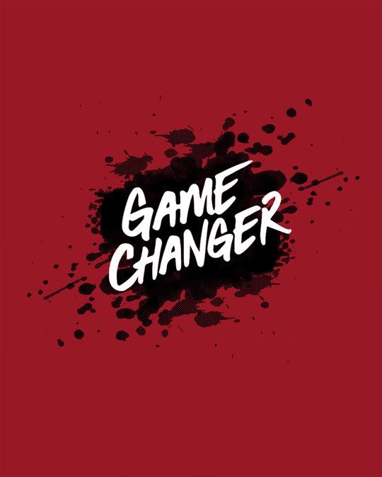 Shop Game Changer Splatter Boyfriend T-Shirt