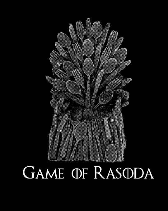 Shop Game Of Rasoda Boyfriend T-Shirt Black-Full