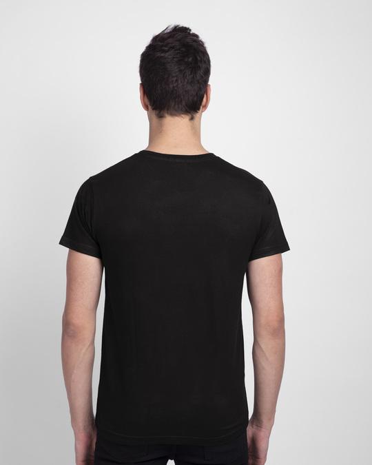 Shop Game Of Rasoda Half Sleeve T-Shirt Black-Back