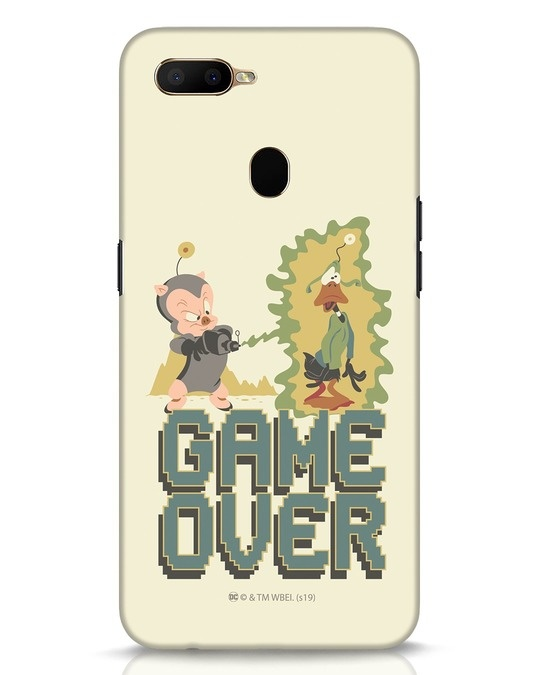 Shop Game Over Toons Oppo A5s Mobile Cover (LTL)-Front