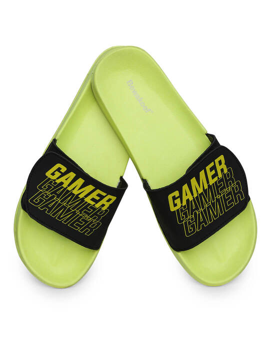 Shop Gamers Printed Lightweight Adjustable Strap Men Slider-Back