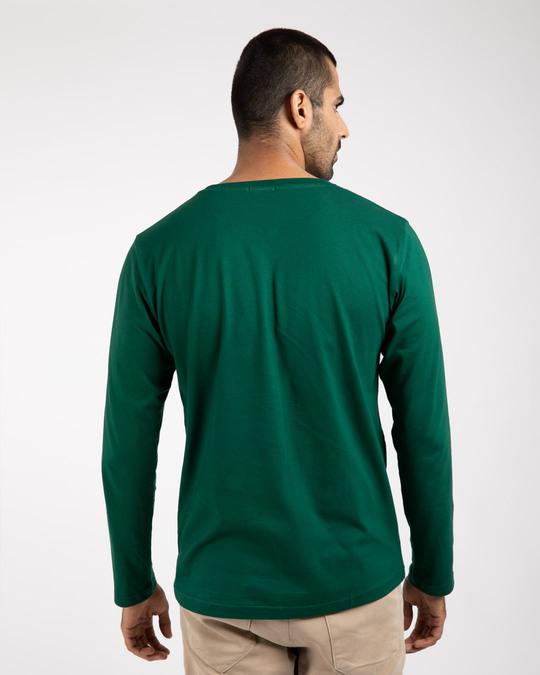 Shop Gangster Bro Full Sleeve T-Shirts-Back