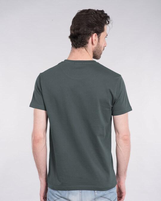 Shop Herb Glow Glow In Dark Half Sleeve T-Shirt -Design