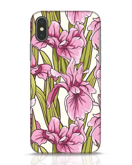 Shop Garden iPhone X Mobile Cover-Front
