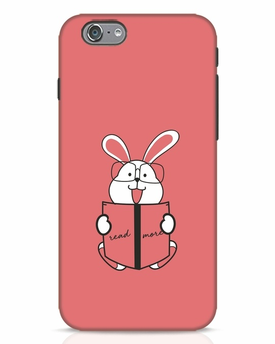 Shop Geek Bunny iPhone 6 Mobile Cover-Front