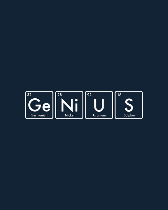 Shop Genius Full Sleeve T-Shirt