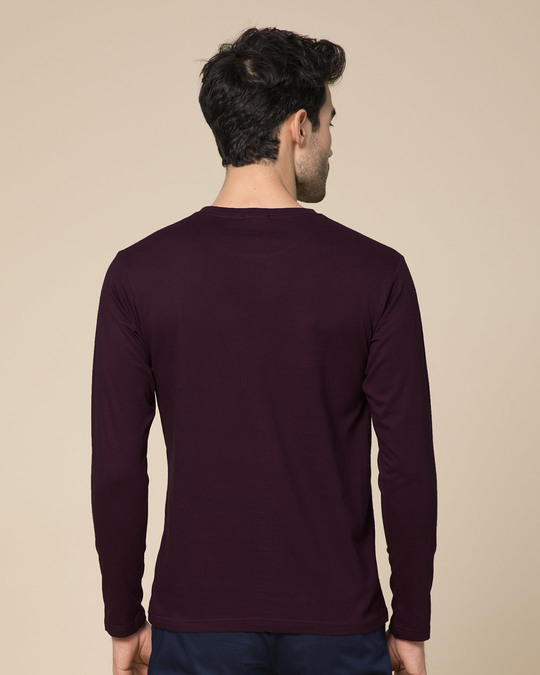 Shop Genius Full Sleeve T-Shirt-Back