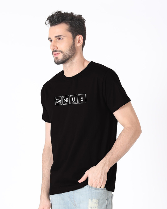Shop Genius Half Sleeve T-Shirt-Full