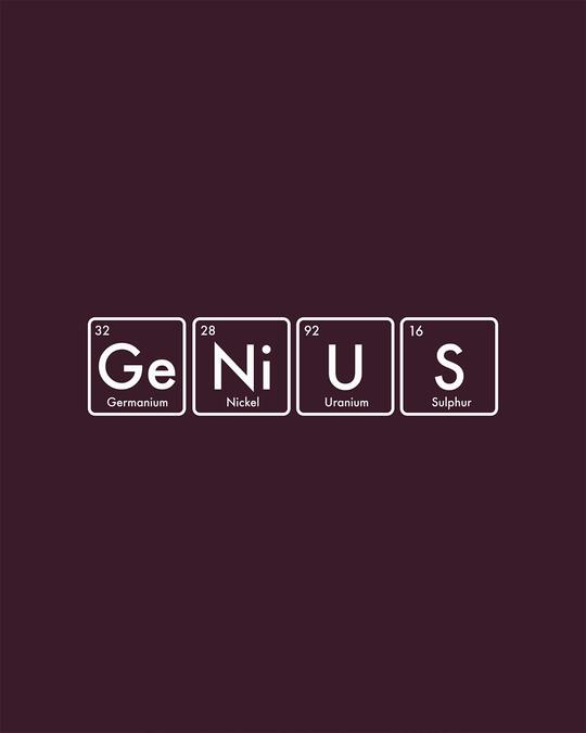 Shop Genius Half Sleeve T-Shirt