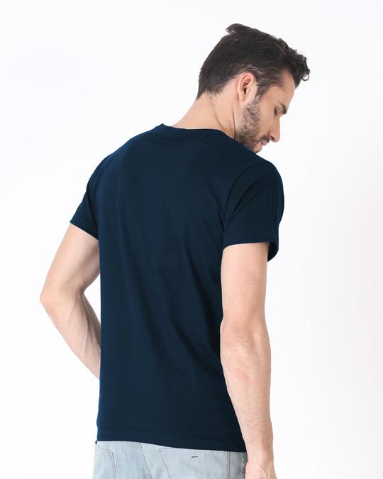 Shop Geometric Panda Half Sleeve T-Shirt-Design